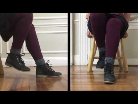 Acadian Chair Dance demonstration