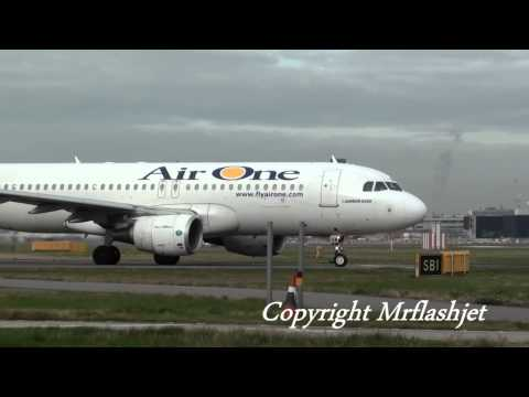 Air One A320 {EI-DSW}  at London Heathrow Airport with Gina Lollobrigida