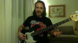 "Pete Griffin Teaches You How to Play ""Scarified"" by Racer X on Bass"