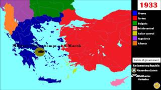 History of modern Greece, Greece and Southern Balkans (1833-2016)