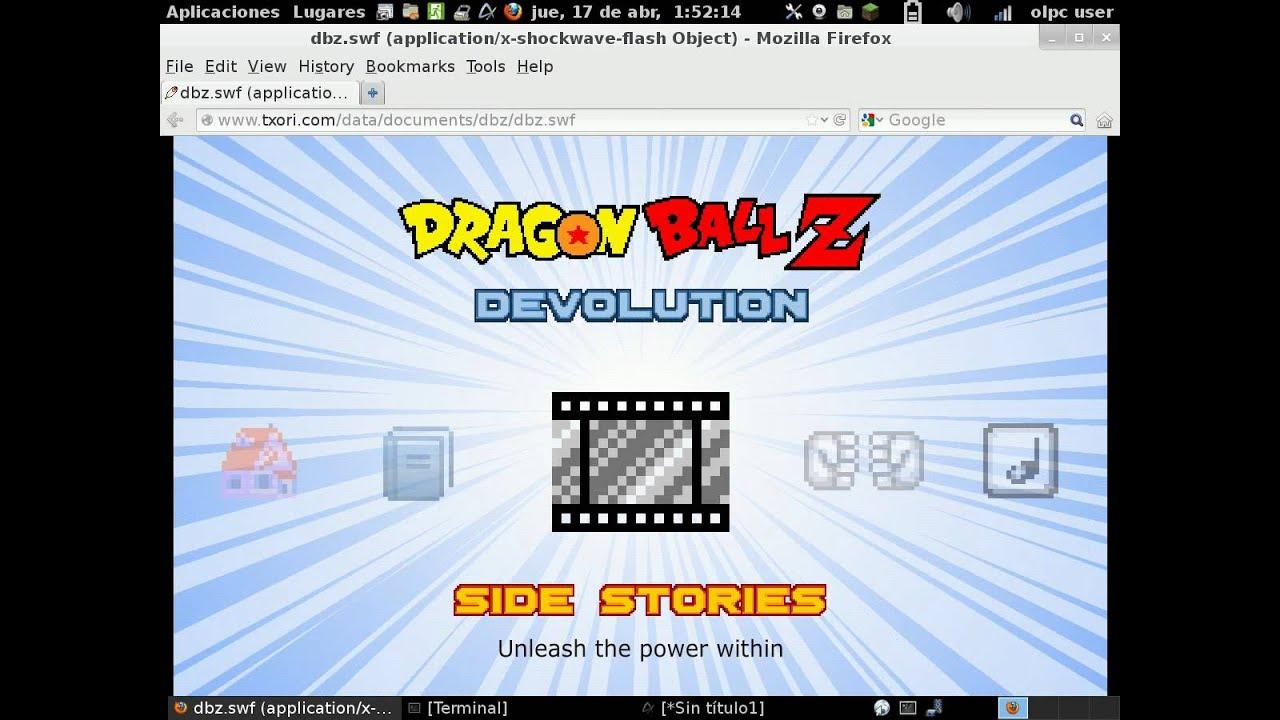 Descargar juego de dragon ball z devolution txori