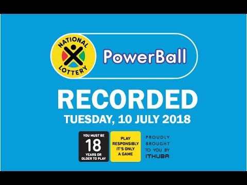 Powerball Live Draw - 10 July