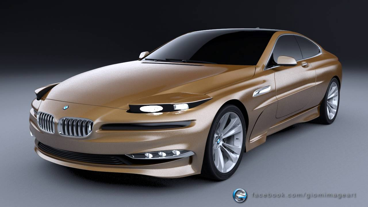 This is the New BMW 8 SERIES CONCEPT! - YouTube