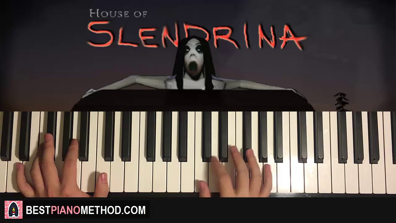 HOW TO PLAY - House of Slendrina - Theme (Piano Tutorial Lesson)
