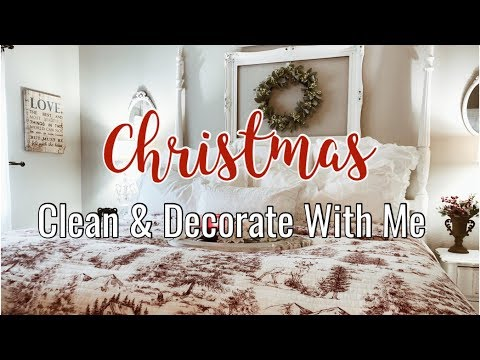CHRISTMAS 2019 | CLEAN AND DECORATE WITH ME | ULTIMATE CLEANING MOTIVATION | DECORATING IDEAS