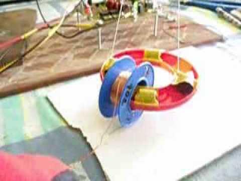 Flywheel energy storage magnetic engine first