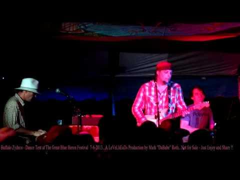 Buffalo Zydeco - Great Blue Heron Festival - Sherman,NY  7- 6 - 2013