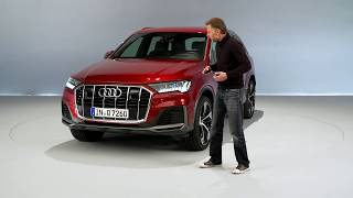 The new Audi Q7 PI Product Improvement Design Walkaround