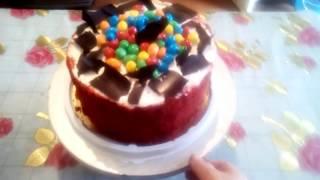 Торт красный бархат готовим дома
