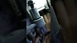 Démontage support moteur xmax