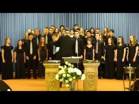 CENTRAL CHRISTIAN SCHOOL CONCERT CHOIR AT THE HEALING MINISTRY CHURCH