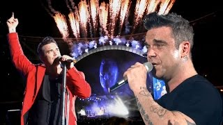 Robbie Williams • Angels Live 2013 (incl. A capella) • Best Version ever!! • MultiCam, TOP Sound, HD