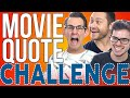 COMEDY MOVIE QUOTE CHALLENGE | Bad Weather Films
