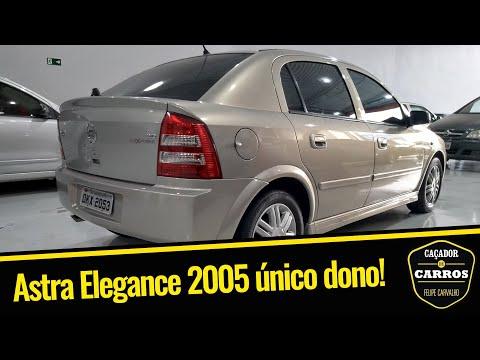 Chevrolet Astra Elegance 2005 // Caçador de Carros