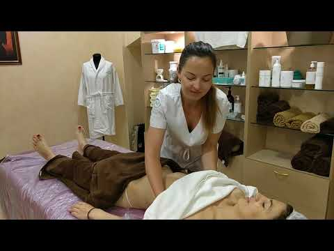 MASSAGE SPA -- ПИЛИНГ ТЕЛА / BODY PEELING and ALGAL SPA. MASSAGE