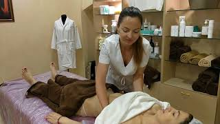 MASSAGE SPA -- ПИЛИНГ ТЕЛА/BODY PEELING and ALGAL