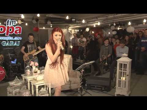 Elena Gheorghe & Glance - Impossible/Ecou | LIVE in Garajul Europa FM