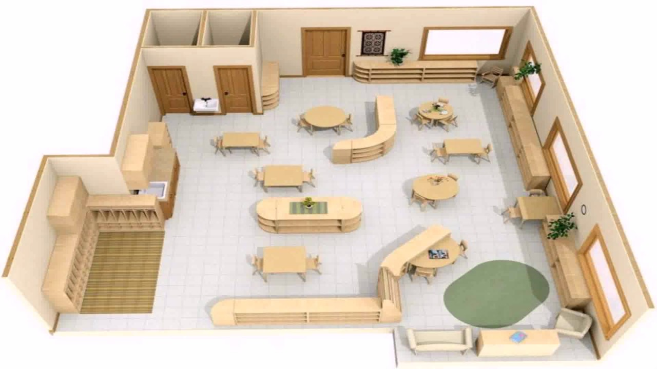 Design your own classroom floor plan youtube for Plan your own room