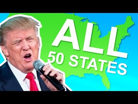 TRUMP SINGS ALL 50 STATES!