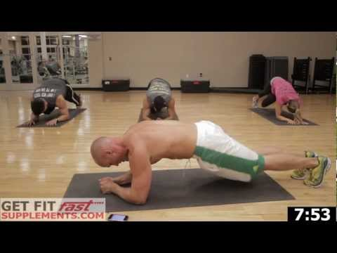 Get Fit Fast Ab Workout-15 min of pain