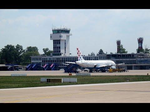 الإقلاع من مطار زغرب في كرواتيا [%] Departure from Zagreb airport in Croatia