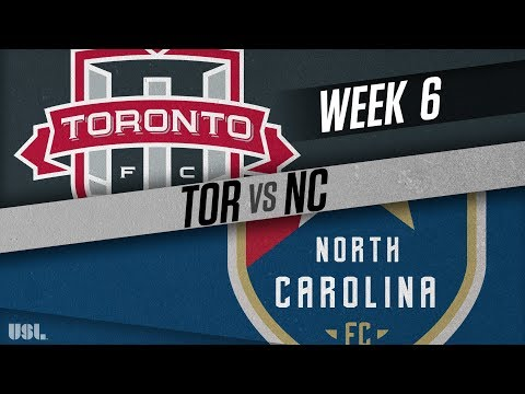 Toronto FC II vs North Carolina FC: April 18, 2018