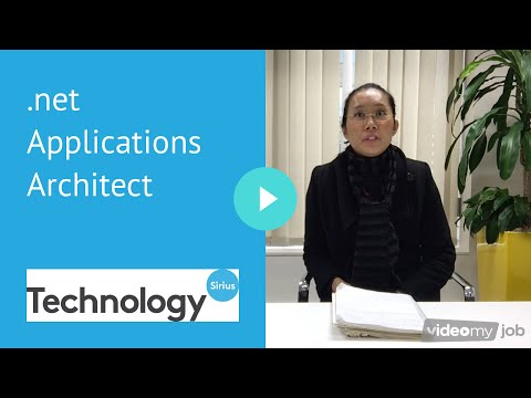 net Applications Architect