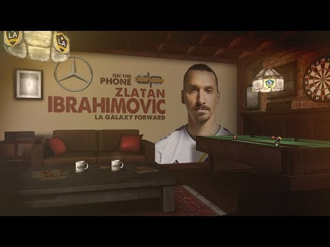 L.A. Galaxy's Zlatan Ibrahimovic Talks Zlatan Ibrahimovic w/Dan Patrick | Full Interview | 4/19/18