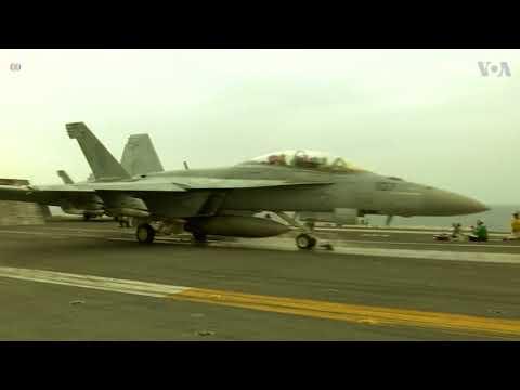 US Navy Jets Begin Sorties Against IS in Syria