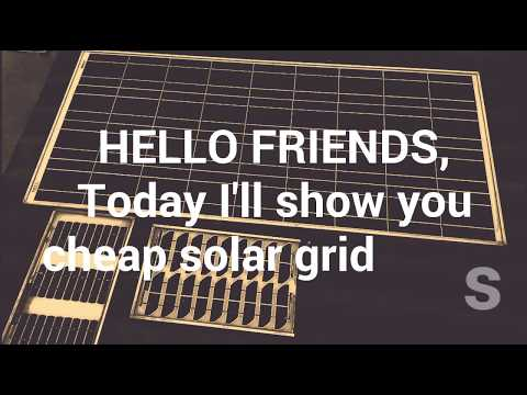 Setup cheap affordable OFF-GRID SOLAR PANNELS. Pure energy without polluting environment