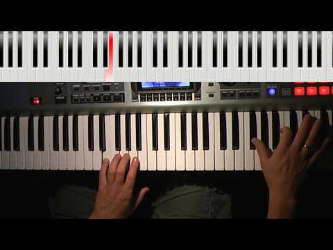 Hillsong Oceans Will Part Darekpiano Lesson Youtube