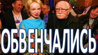 Джигарханян и Цымбалюк Романовская обвенчались после примирения  (01.04.2018)