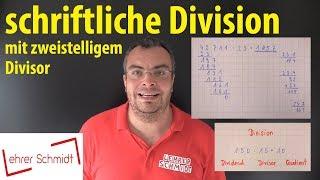 schriftliche Division mit zweistelligem Divisor | Mathematik - einfach erklärt