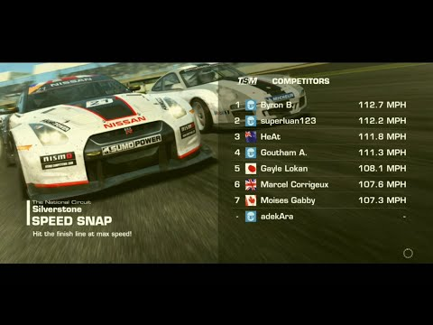 Real Racing 3 NISSAN  350Z (Z33) SPEED SNAP, The National Circuit Silverstone England