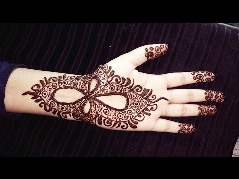 Arabic Henna Design Simple Pretty Mehendi Henna Tattoo Youtube