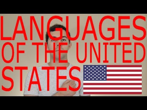 Languages of the UNITED STATES! (Languages of the World Episode 10)