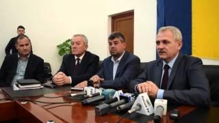Conferinţă de presă susţinută de Liviu Dragnea după şedinţa CEx Jud. al Org. PSD Buzău - 15.03.2016