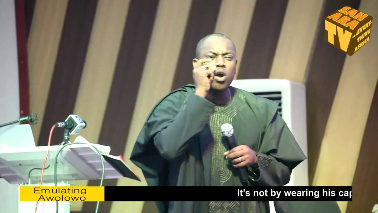 Download Fela Durotoye Discusses How Not To Emulate Obafemi Awolowo