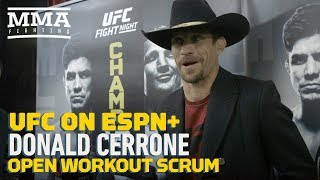 UFC Brooklyn: Donald Cerrone Still 'Working For' Conor McGregor Fight, 'Hopefully' Next