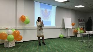 Смотреть видео Заира Хучбарова.  Создание сети и личная история. Москва. Большой бизнес семинар от АПЛ. 27.10.2018 онлайн