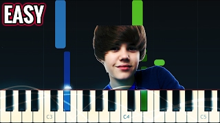 Love Me by Justin Bieber | Piano Tutorial | EASY Video