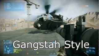 Battlefield 3: Explosiones y Helicóptero gangstas
