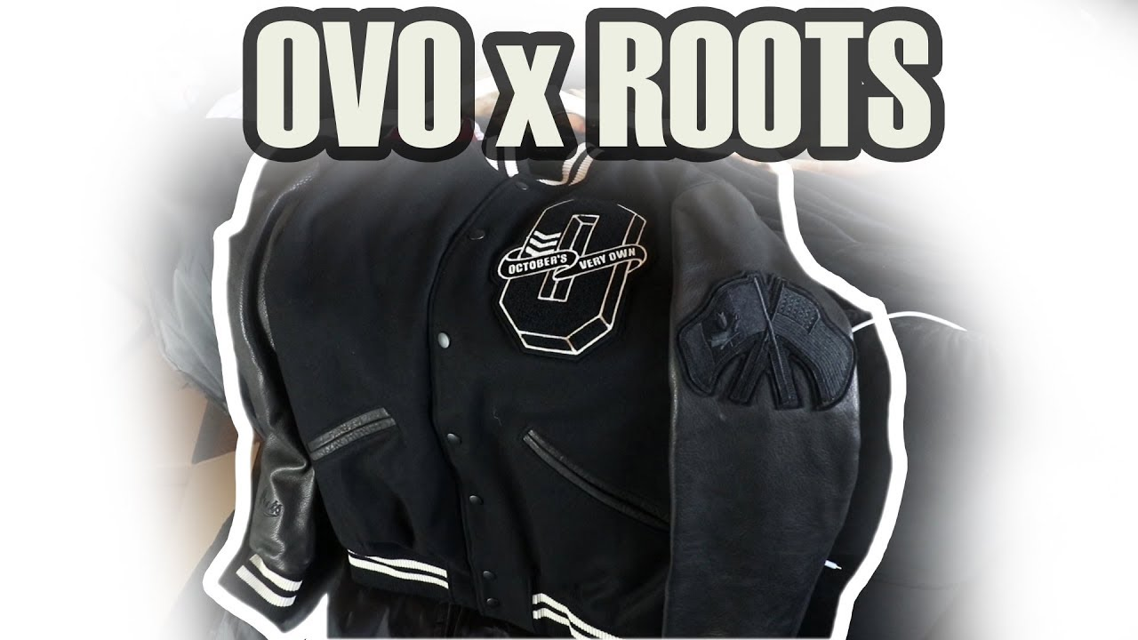 ovo x roots varsity jacket 2017 review on body youtube