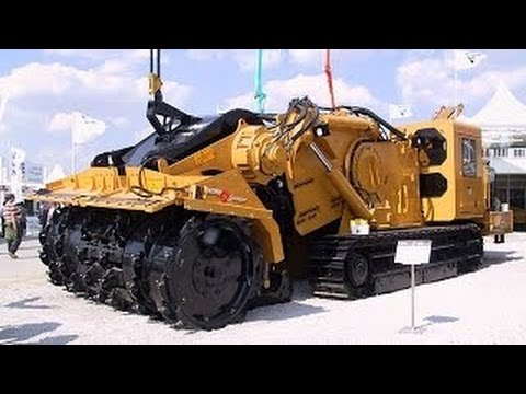 EXTREME # amazing heavy equipment, vermeer trencher machine,