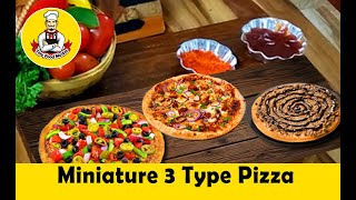 Pizza Recipe | Veg Pizza | Tiny Chicken Pizza | Chocolate Pizza without Oven Pizza: Episode #24