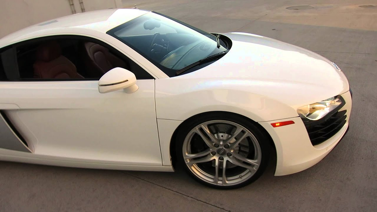 2008 audi r8 r-tronic coupe v8 ibis white rare car for  call