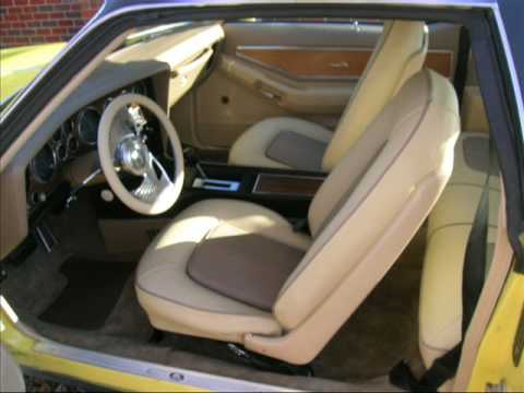 1973 Pontiac Grand Prix Full Custom Auto Interior Seats