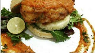 Cara Masak - Chicken Burger