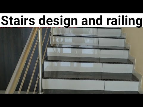 Staircase Design And Tiles Flooring