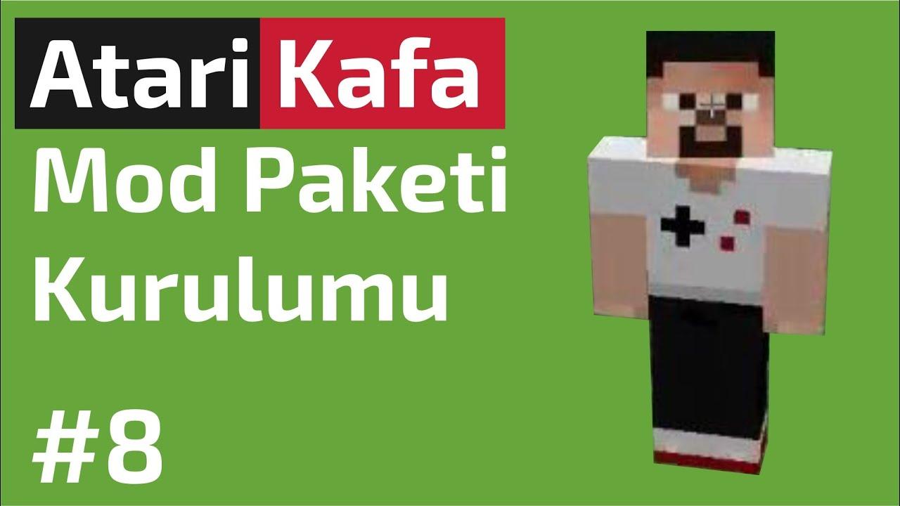 Atari Kafa Minecraft Mod Paketi Indirme Ve Kurulumu 1 7 10 Multimc 8 Youtube